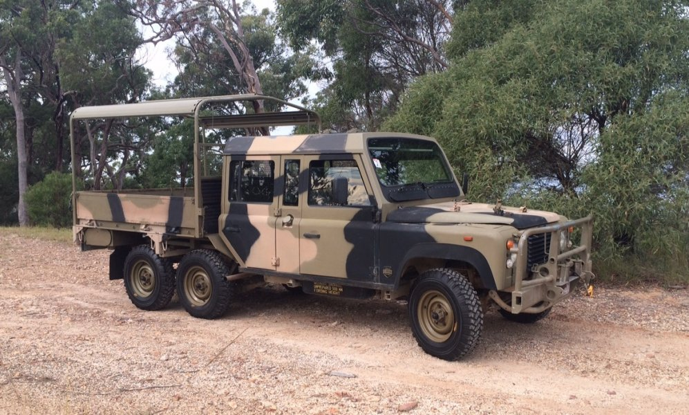 Perentie 110 And 6x6 All Variants