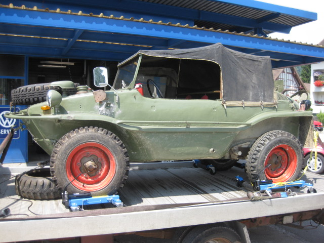 Kubelwagen For Sale >> VW 166 and VW 82