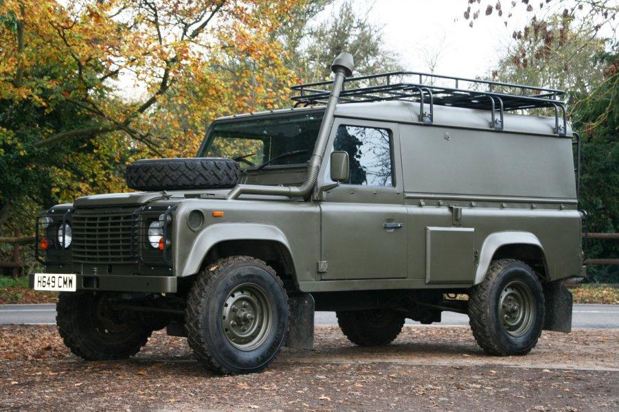 Winterised Defender 110 200tdi Rhd