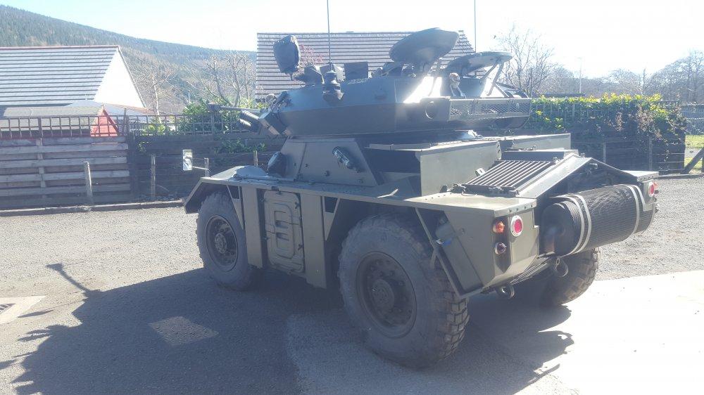 Fox Armoured Car CVRW