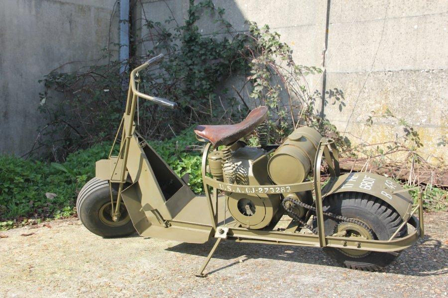 cushman scooter airborne