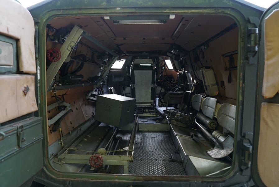 Alvis Saracen APC Ambulance Version