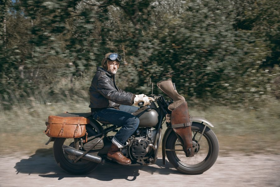 Original paint Harley Davidson XA